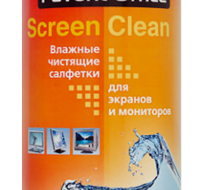 салфетки SCREEN CLEAN для мониторов в тубе 130001